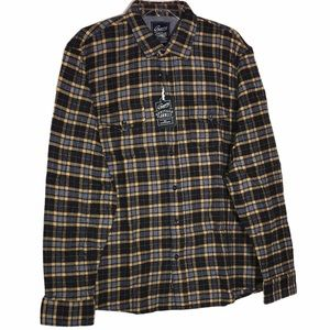 Grayers Heritage Flannel -Blue, Gray, and Gold